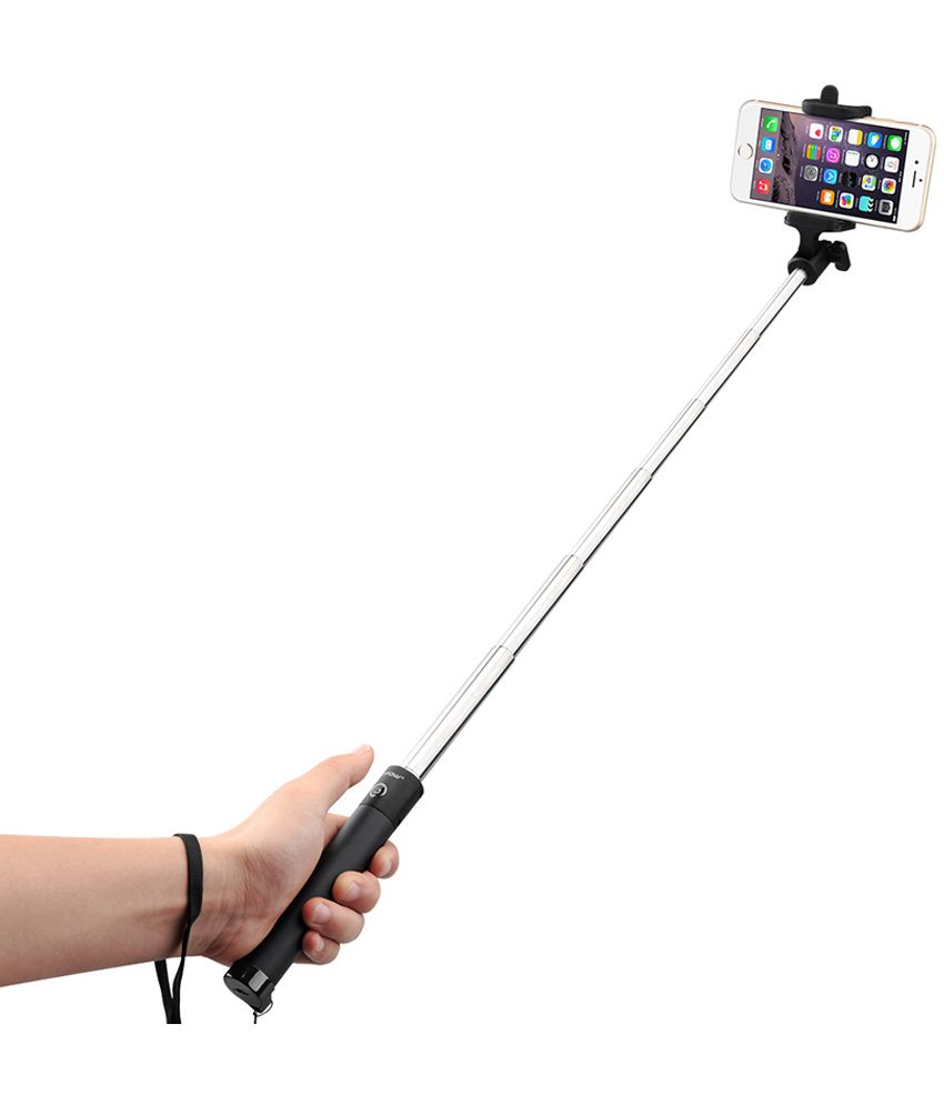 mpow isnap x selfie stick without mic black price in india buy mpow isnap x selfie stick. Black Bedroom Furniture Sets. Home Design Ideas