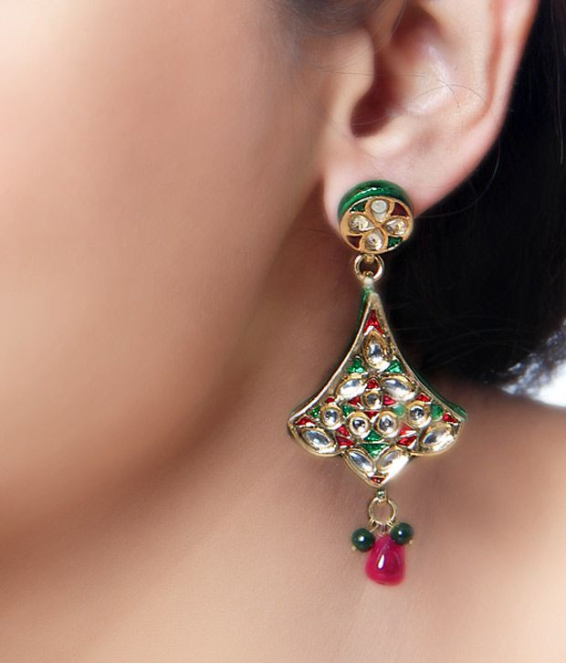 Kalakriti Elite Muticolour Earrings