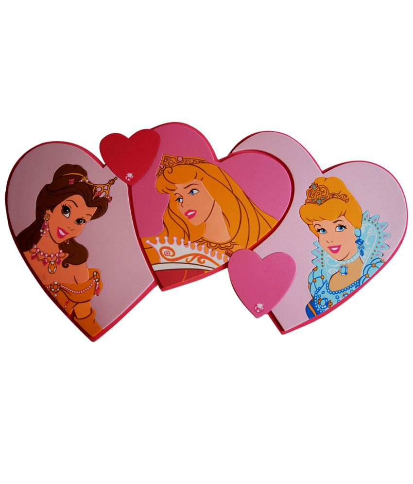 Disney love princesses decoration murale foam stickers for Decoration murale love