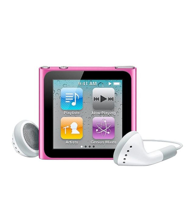 Apple Ipod Nano 6Th Generation 8 Gb Pink