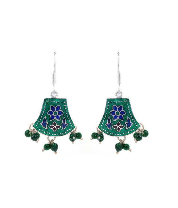 Revlis Divine Meenakari Earrings