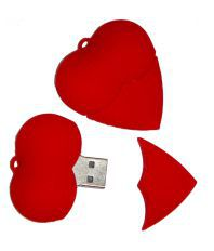 XElectron 16GB Heart Fancy Designer Pen Drive