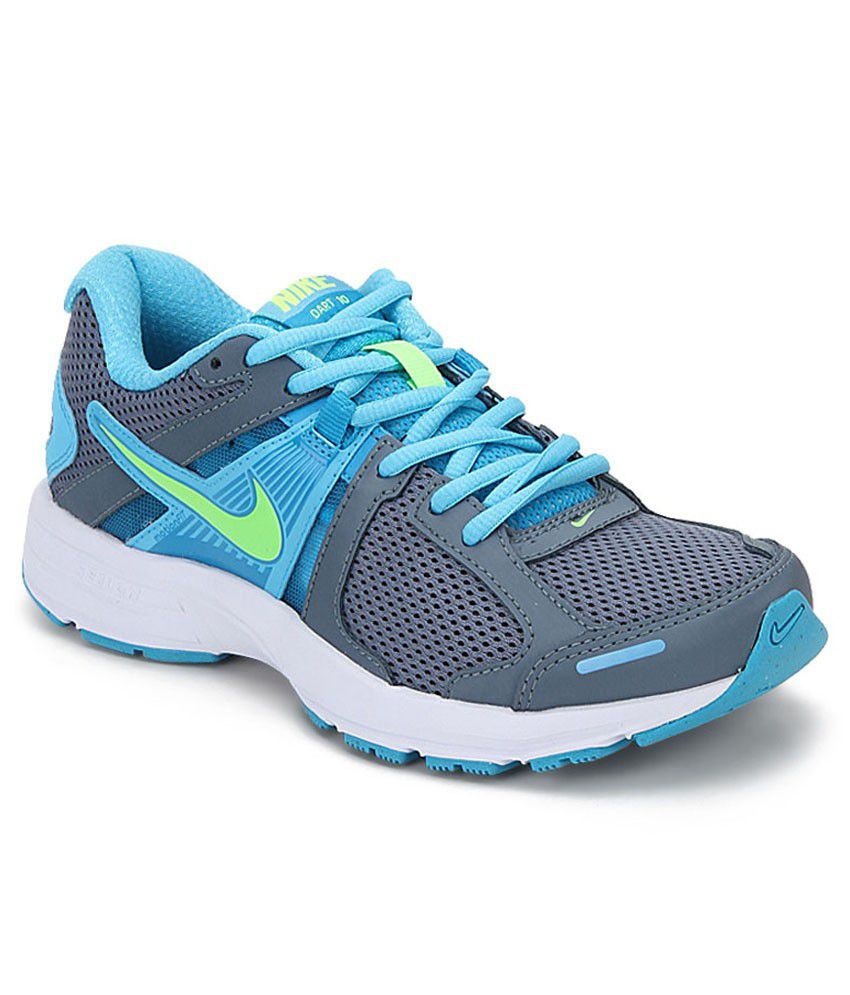 nike womens blue dart 10 sports shoes price in india buy