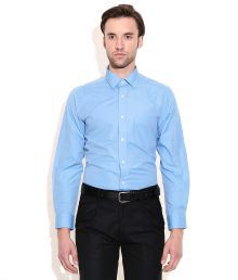 Arrow Blue Regular Fit Formal Shirt