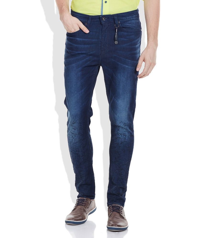 Carrot Fit Jeans  Buy United Colors of Benetton Blue Carrot Fit Jeans