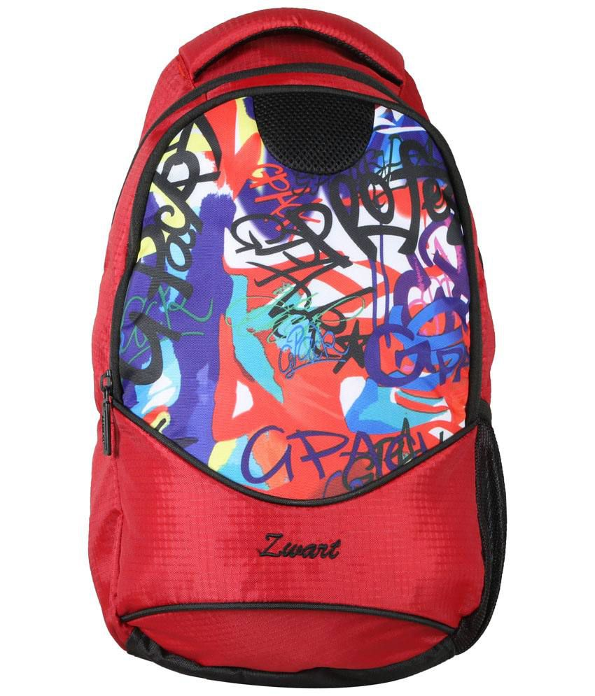 Zwart Multi School Bag