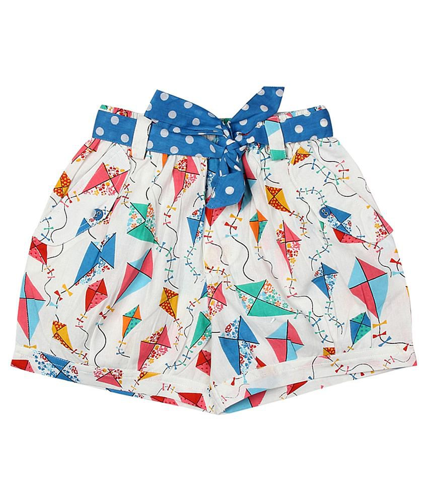 Akkriti by Pantaloons Multicoloured Printed Regular Fit Shorts