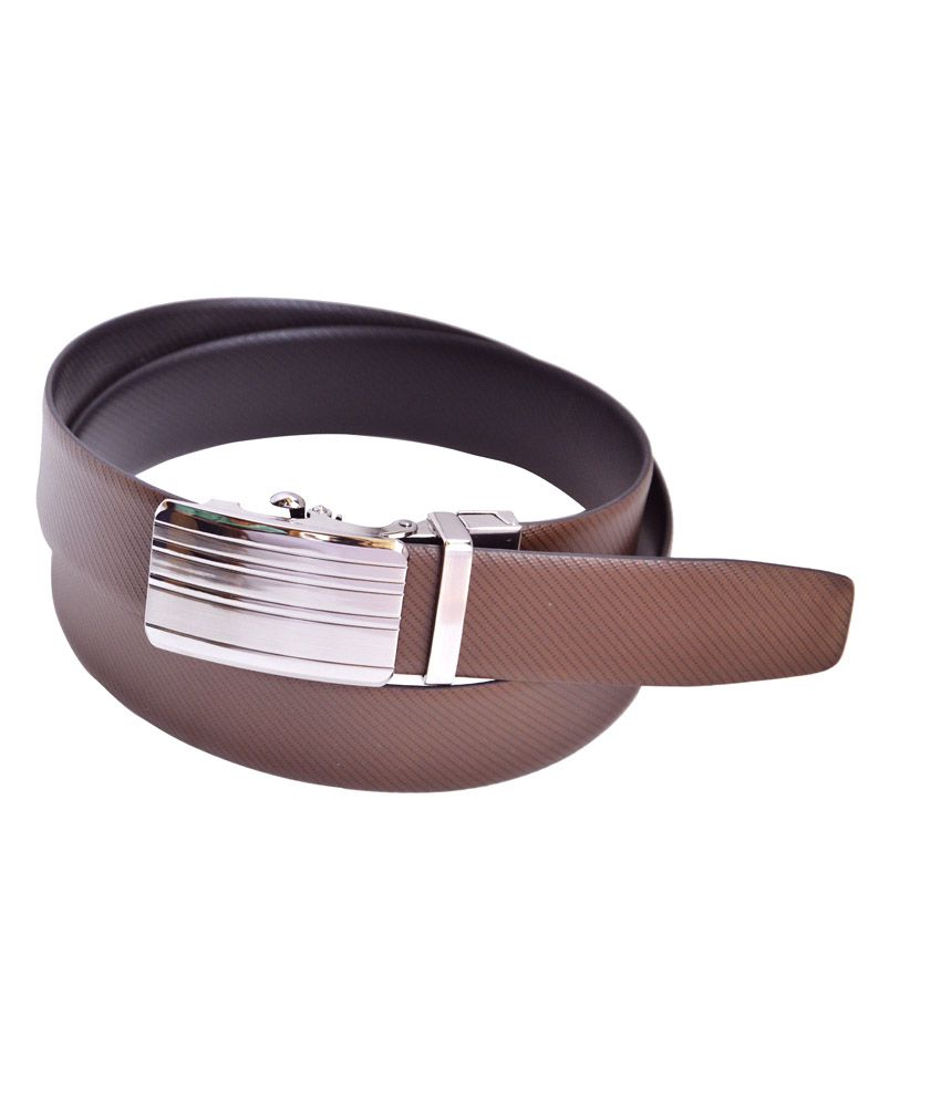Manshkhino Black And Brown Formal Reversible Belt For Men