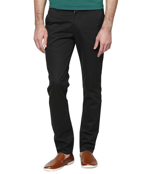 Haute Couture Black Slim Semi Formals