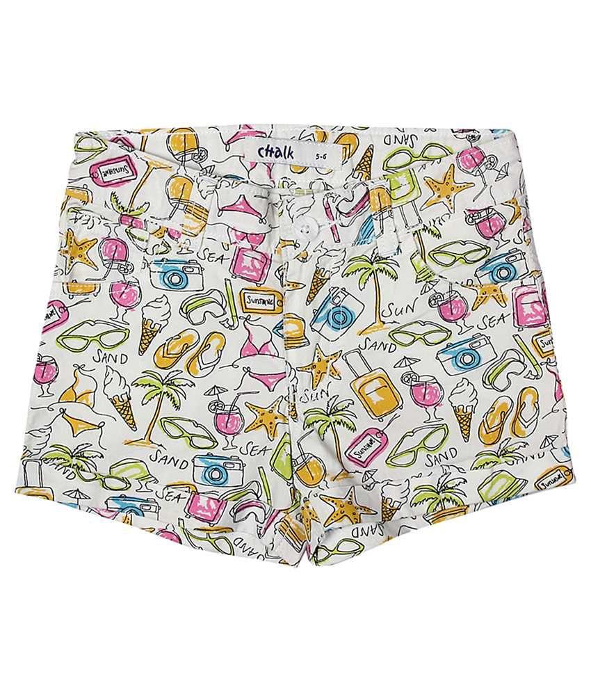 Trishaa by Pantaloons Multi Printed Shorts