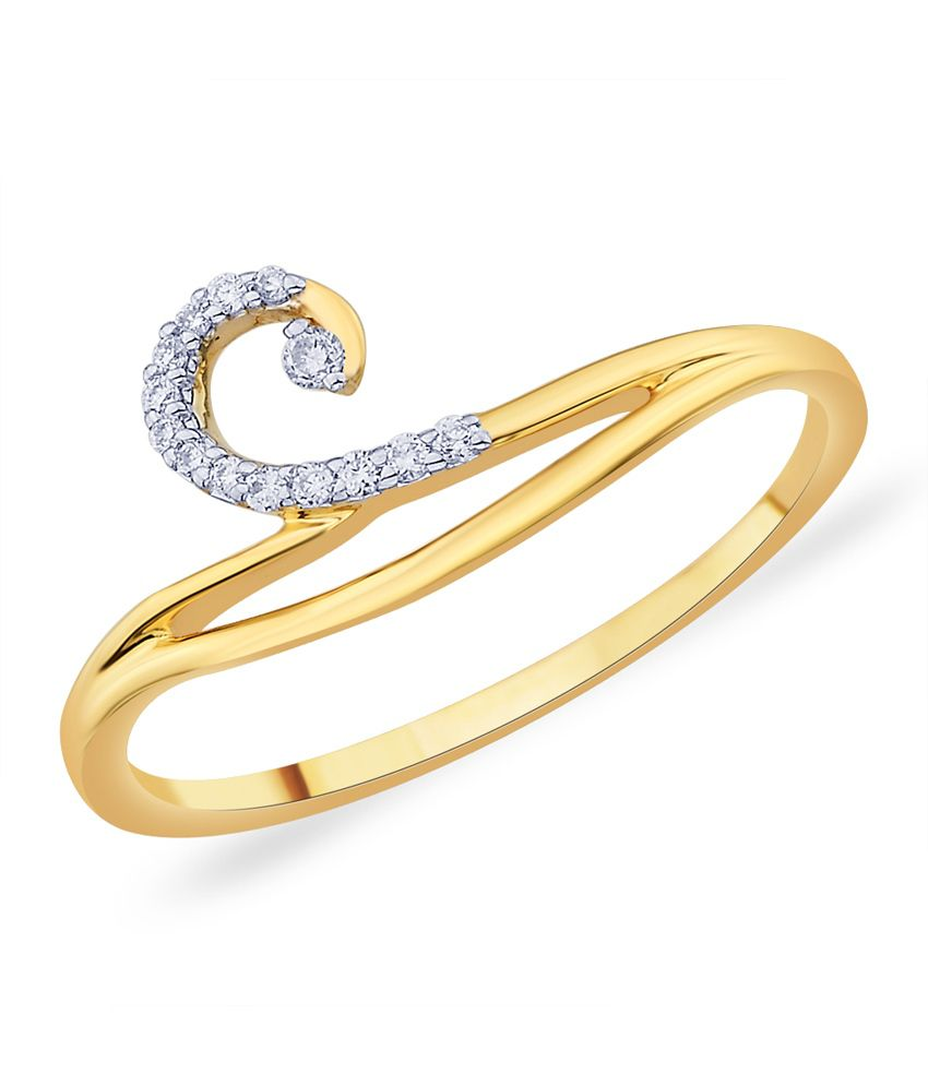 Diti Traditional Style Gold Ring