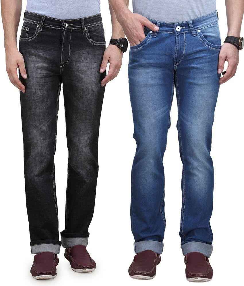Vintage Blue Jeanswear Multi Regular Jeans