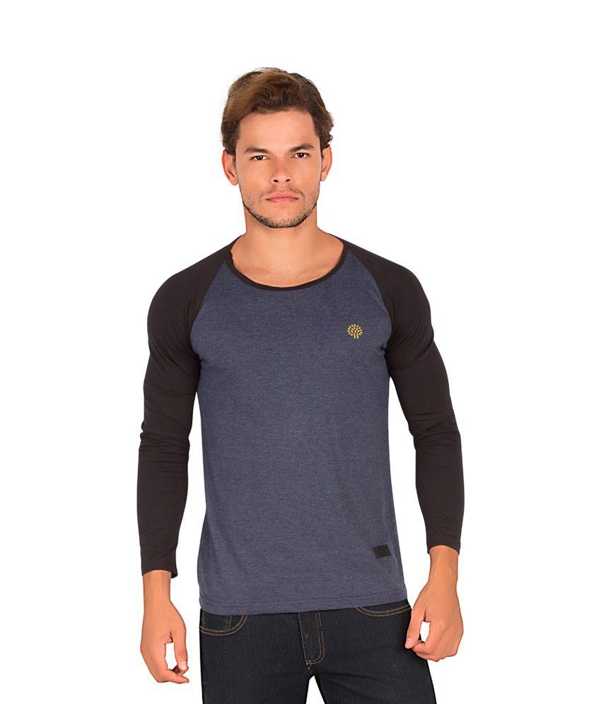 Alan Jones Gray Cotton T-Shirt