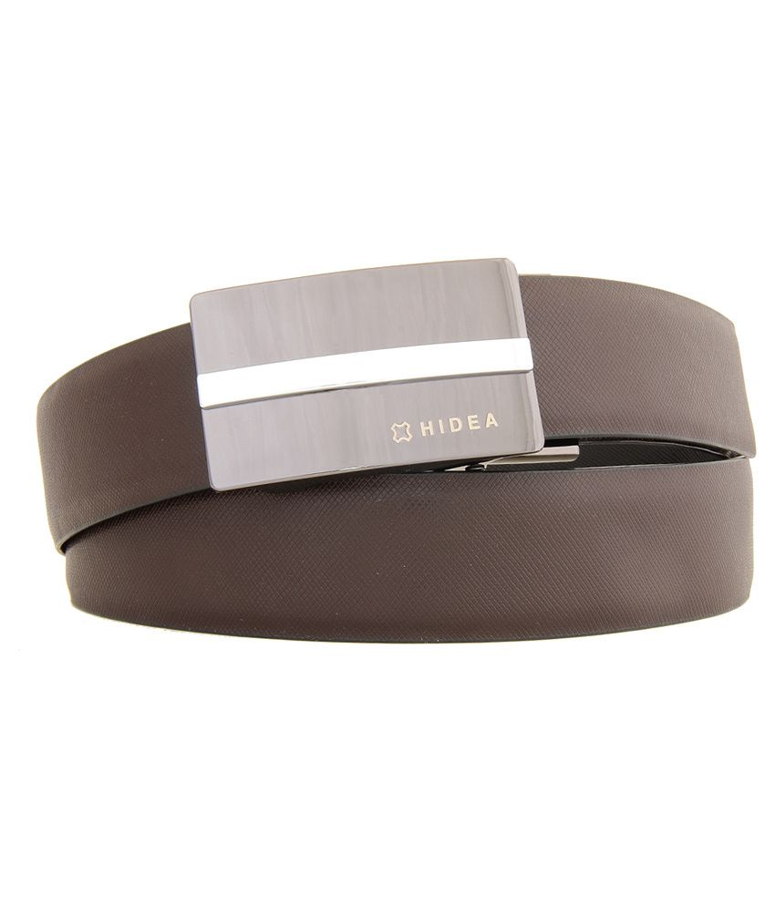 Hidea Black Formal Leather Belt
