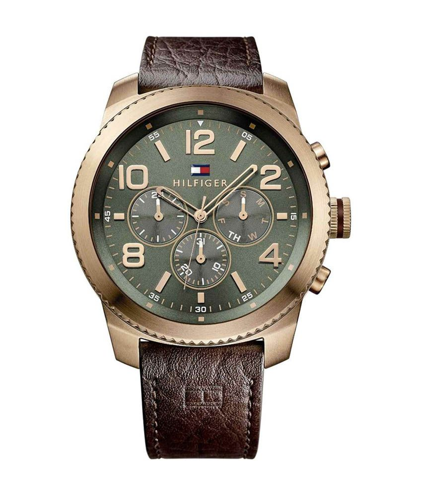 Tommy Hilfiger Tommy Hilfiger Green Dial Men's Watch