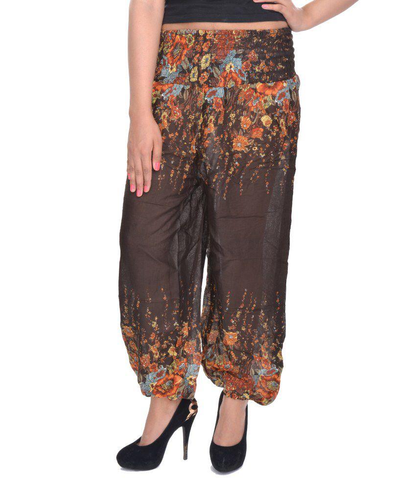 Lastest Myntra Sakhi Sang Women Mauve Harem Pants 360989 | Buy Myntra Sakhi Sang Harem Pants At Best ...