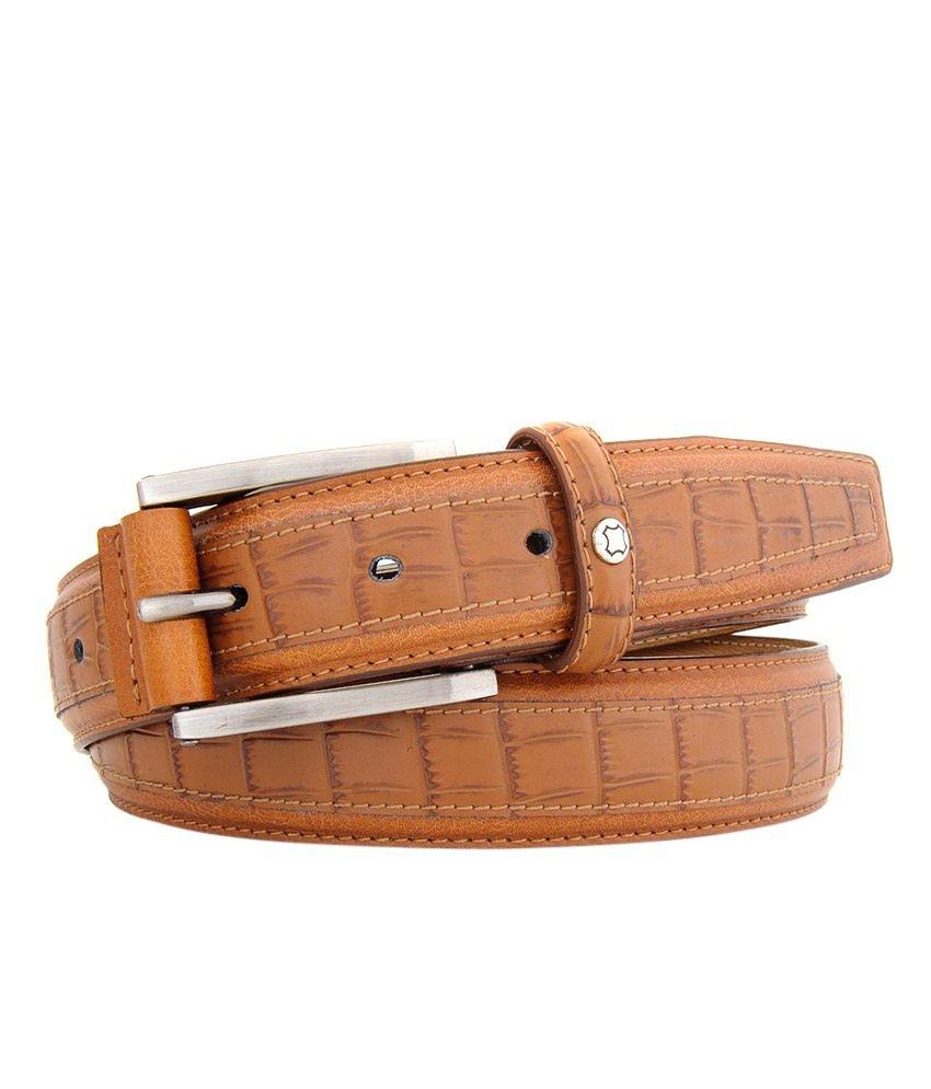 Hidea Brown Leather Belt