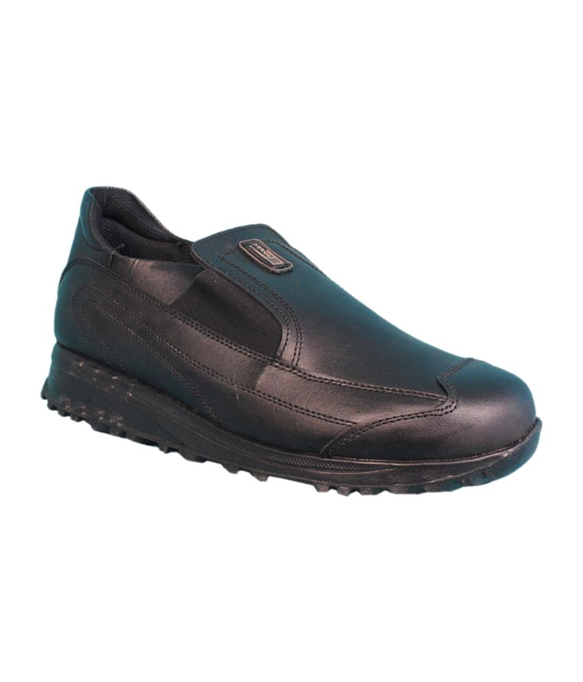 liberty black slip on sport shoes price in india buy