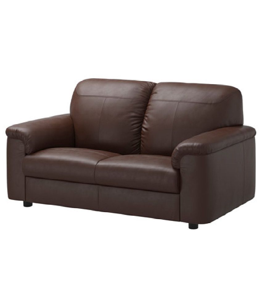 Leatherette 5 Seater Sofa 3 2 In Brown Buy Leatherette 5 Seater