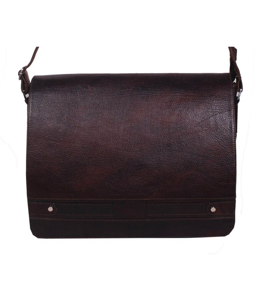 Bag Jack Brown Leather Octantis Bag