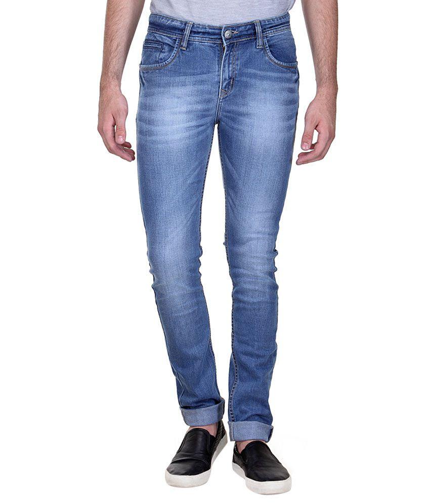 Fever Stylish Denim Lycra Slim Fit Jeans