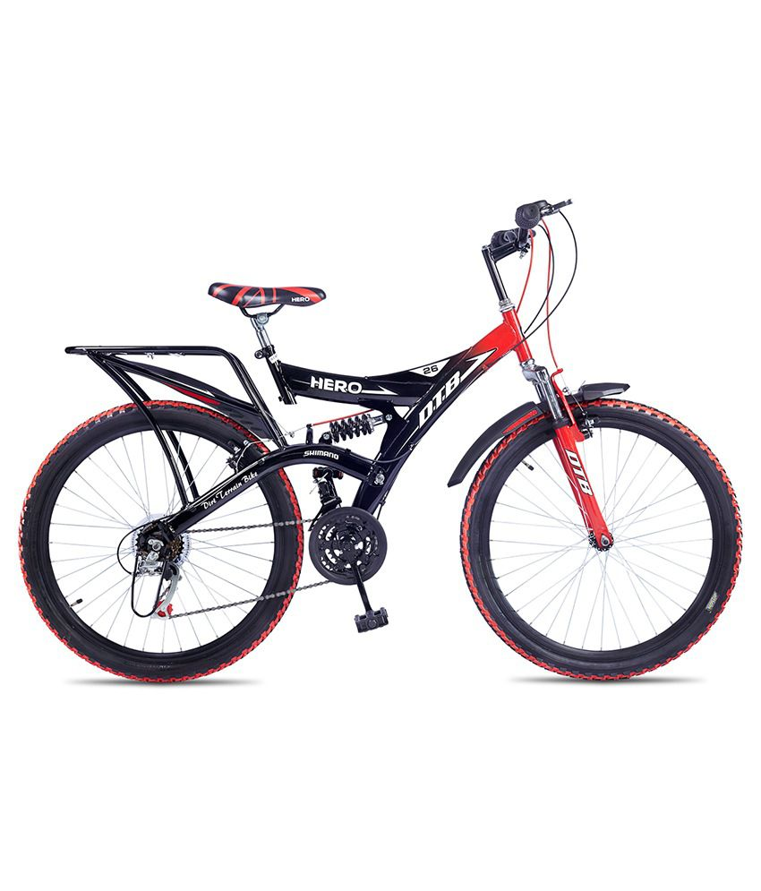 Hero Octane 26t Dtb Alloy 21 Speed Adult Cycle Red Buy