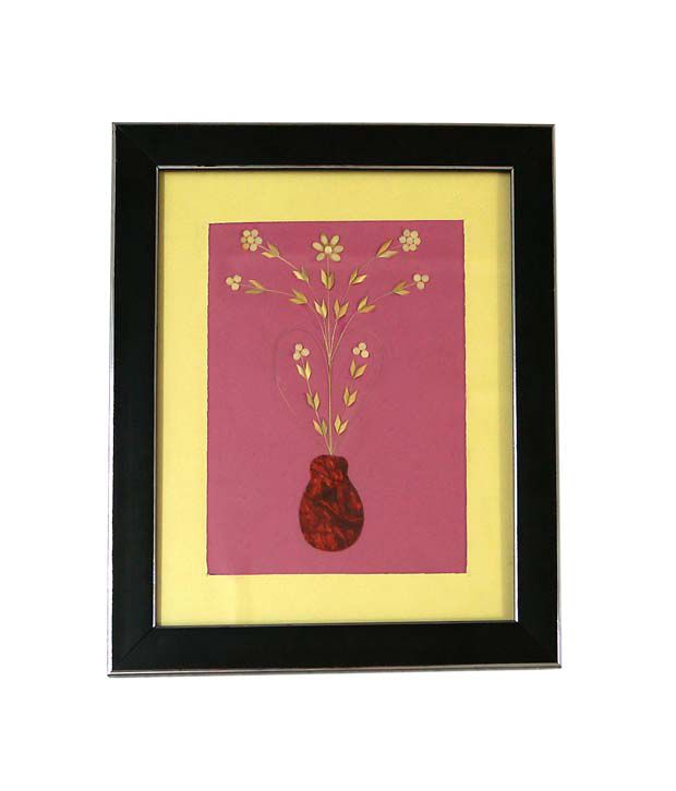 R S Jewels Paper Painting Handmade