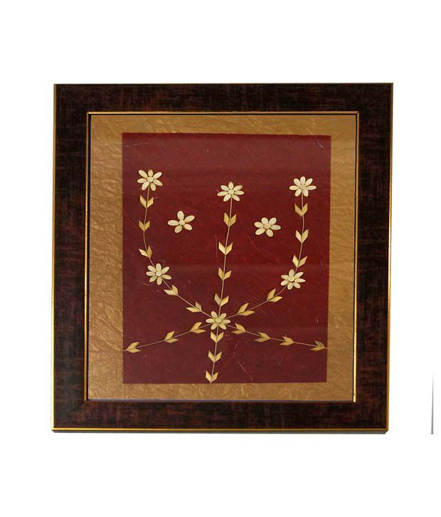 R S Jewels Paper Wall Painting Handmade