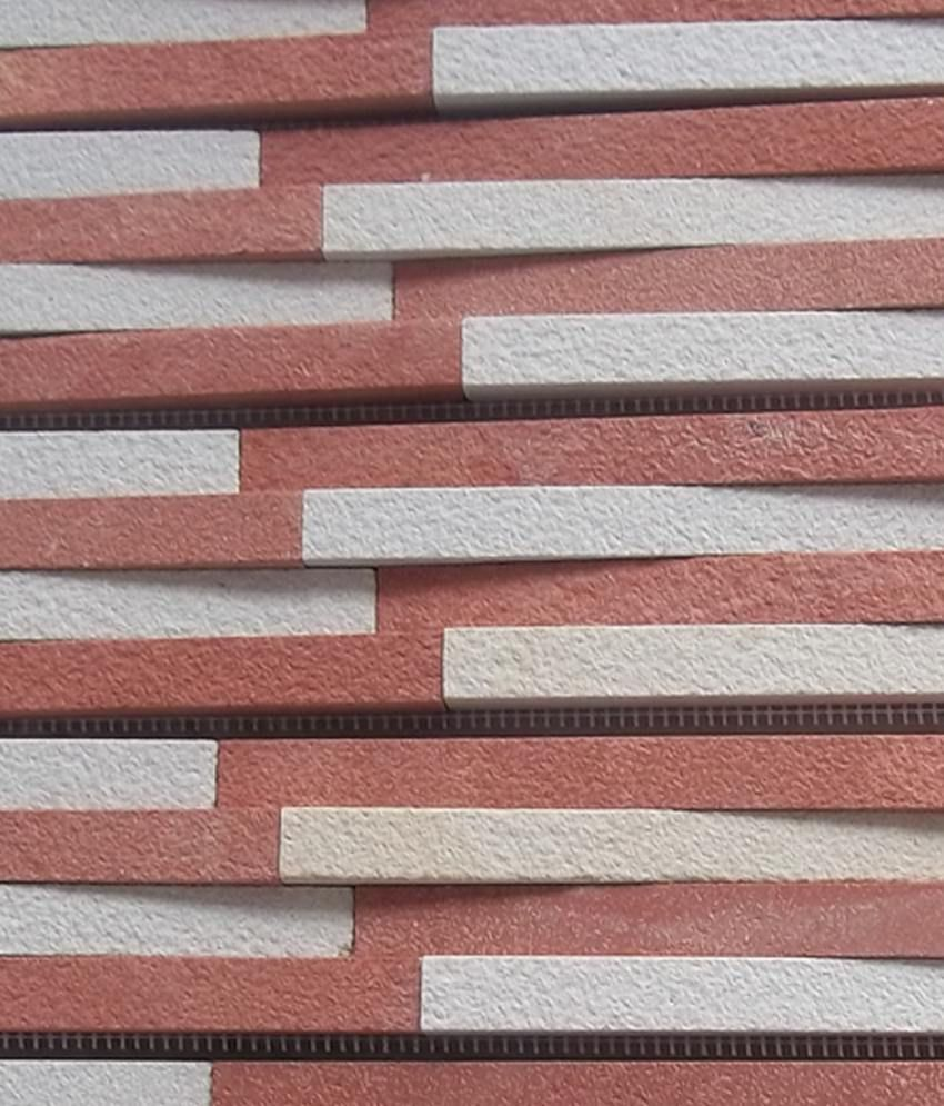 Ss International Red Natural Stone Wall Cladding Tile: Buy