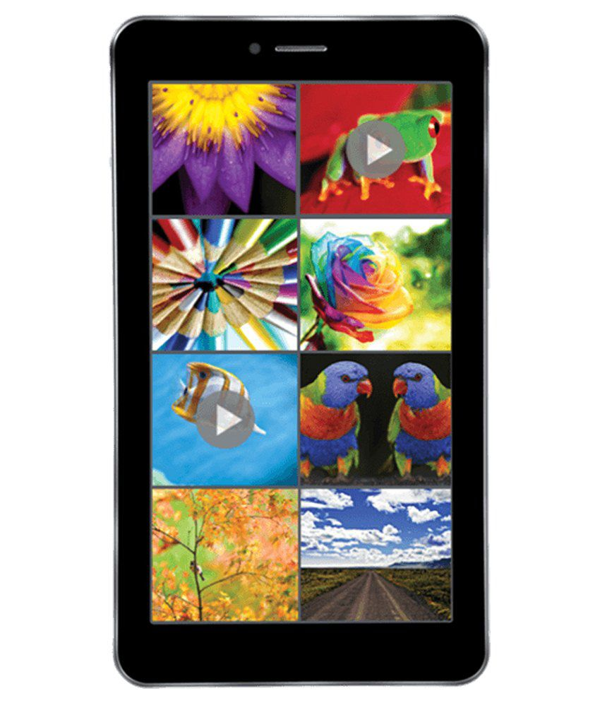 iBall Q45 8GB (3G + Wifi, Calling, Metallic Grey)
