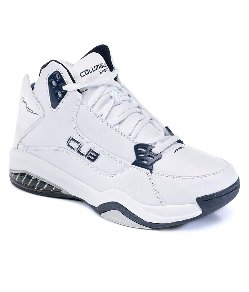 Columbus White Shoes