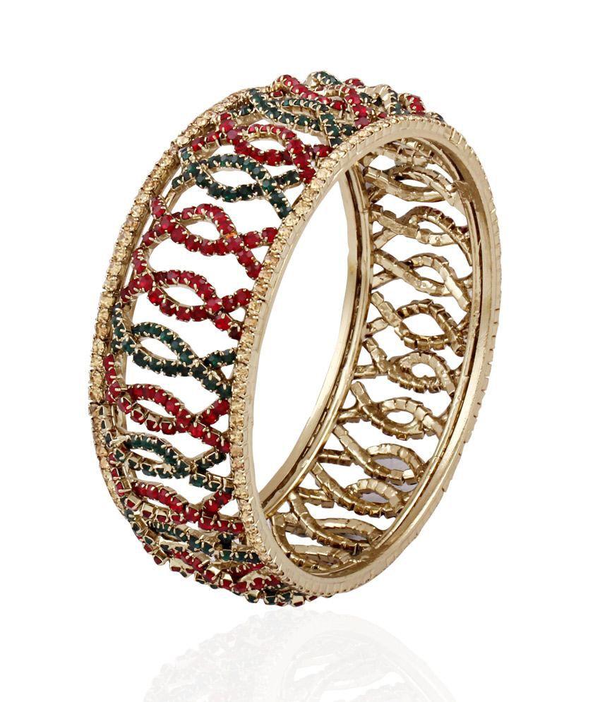 Accessher Colorful Curves Bracelet