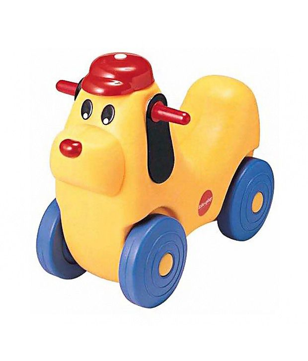 Edu-play Roll and Play Ride - Multicolour
