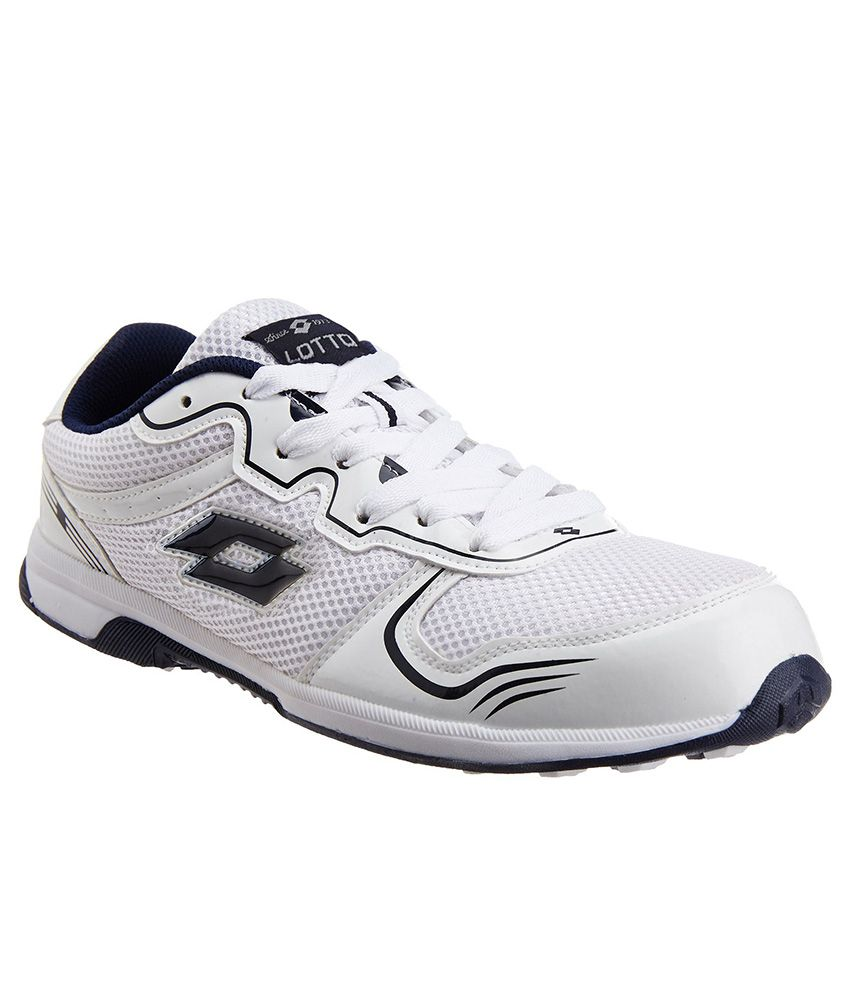 White Sports Shoes Online India