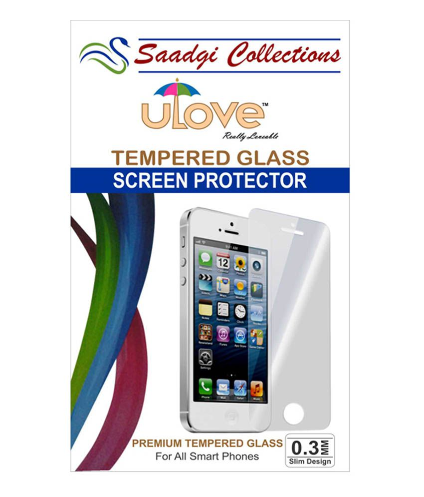 HTC 816 - Pack 1 Tempered Glass Screen Guard by Saadgi Collections