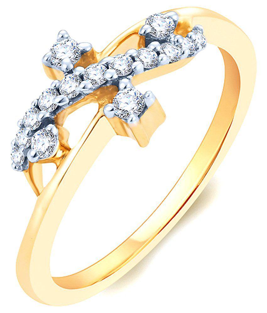 KaratCraft Diamonds 18kt Gold Ring