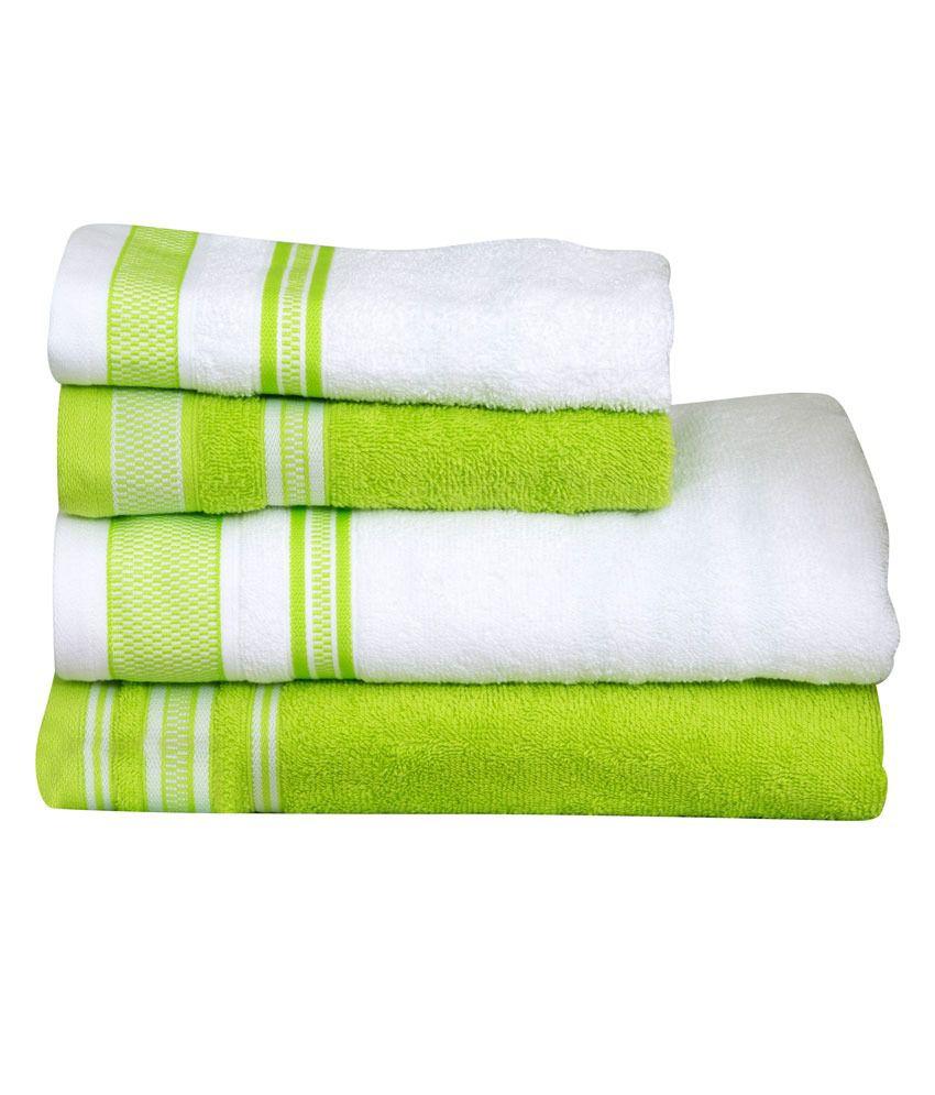 Lime Green Towel Sets