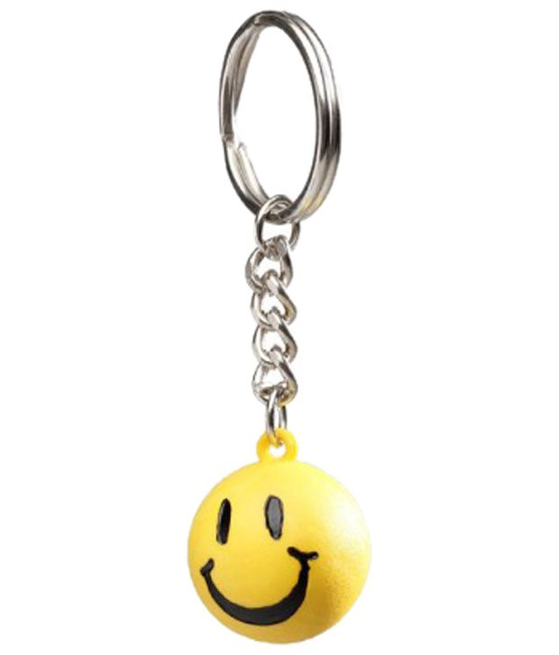Winsome Deal Combo of Yellow Keychain & Sky Blue Nokia Asha 311 Back Cover