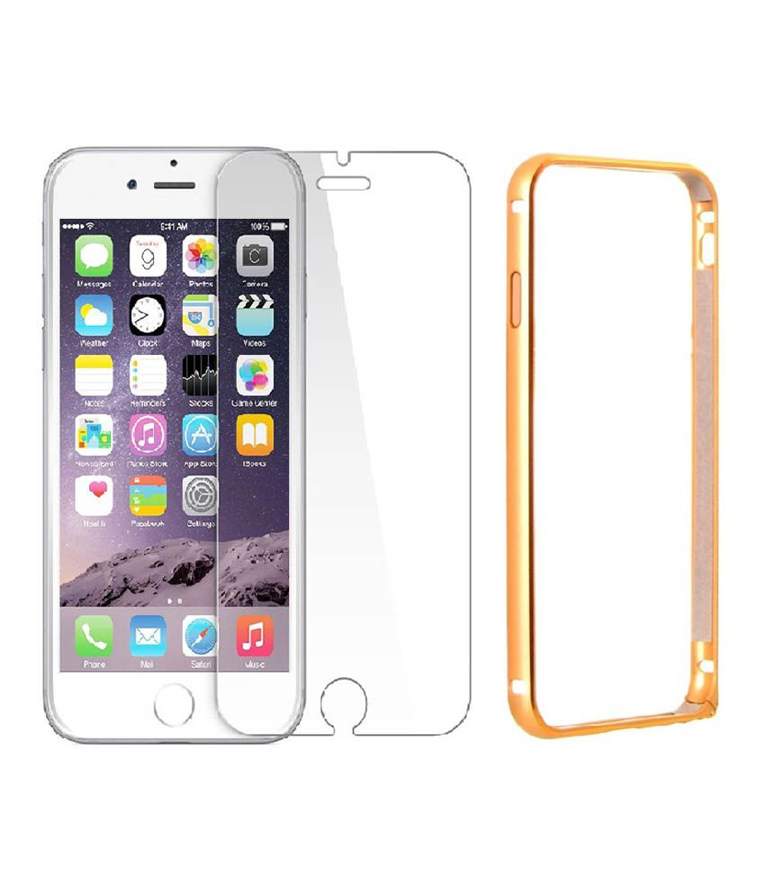 Apple iPhone 6 Tempered Glass Screen Guard by Golden Cloud