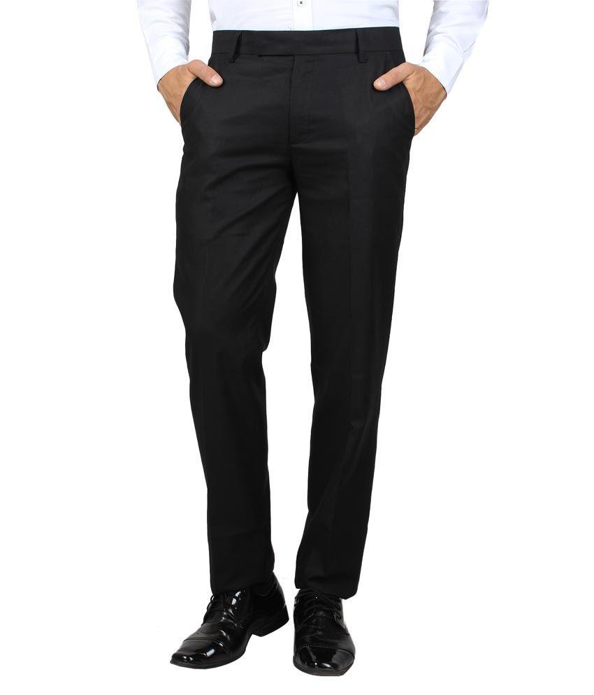M S Dyers Black Regular Formal