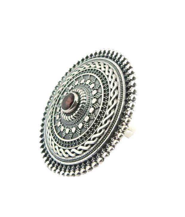 miskasilver 92 5 sterling silver contemporary ring buy