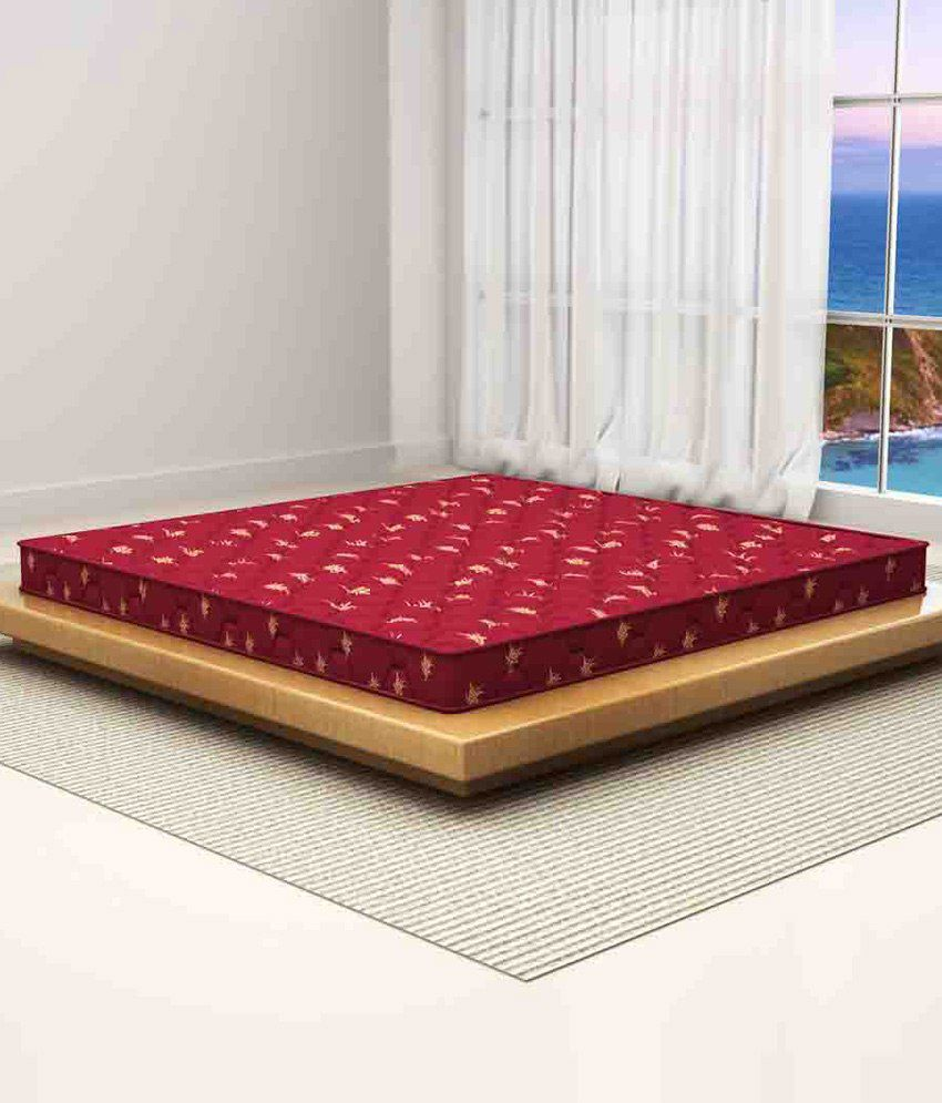 sleepwell duet air double mattress 72x72x5 inches buy sleepwell