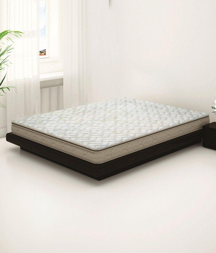 sleepwell impression regal double soft memory foam mattress 78x60x6
