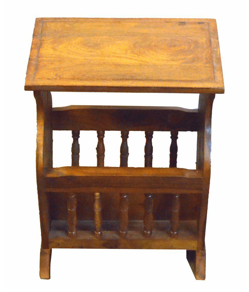 Tice Sheesham Wood Side Table