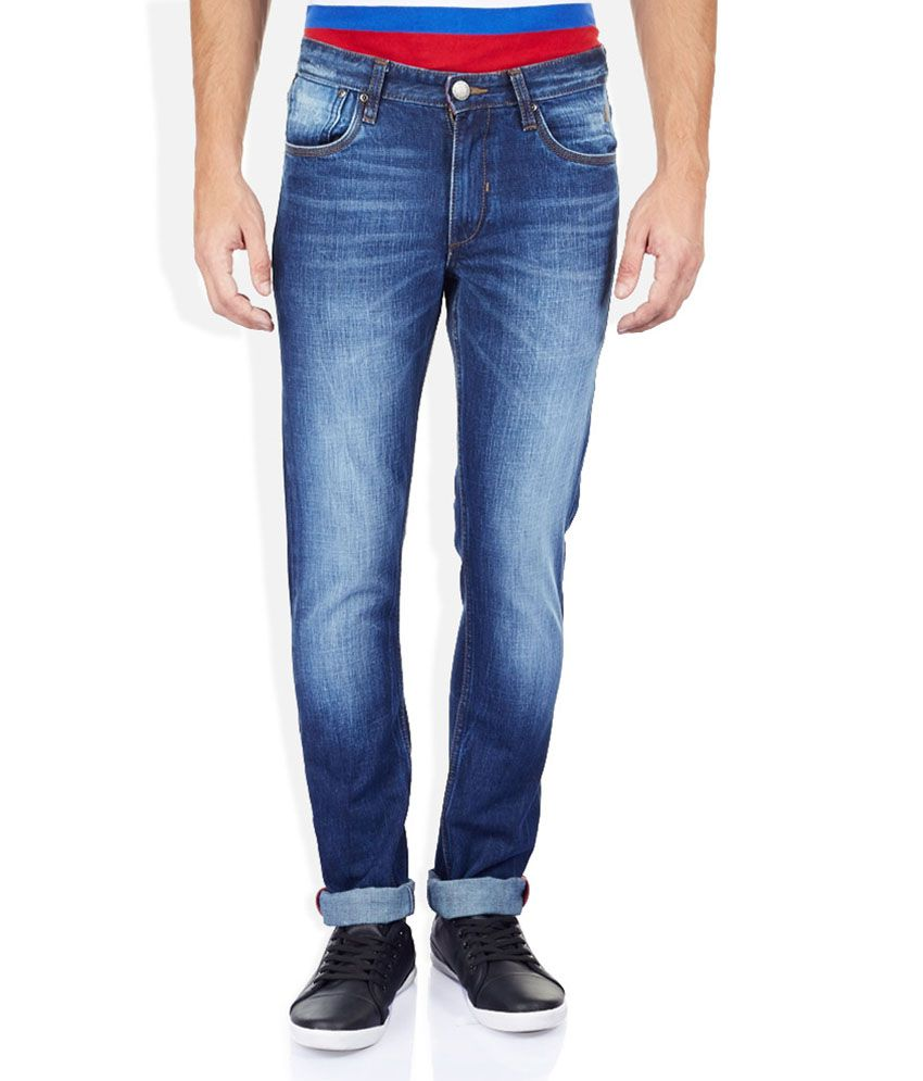 Izod Blue Slim Fit Jeans