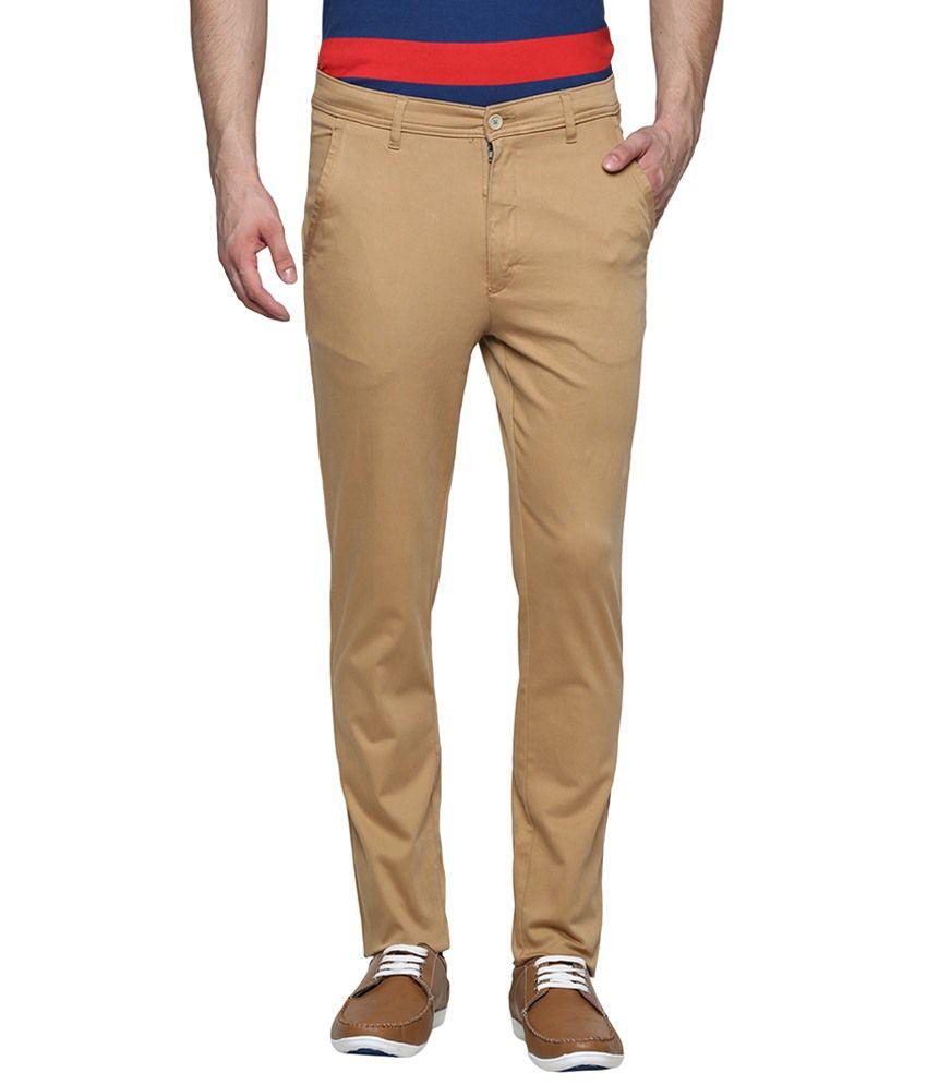 Kingswood Khaki Cotton Trousers