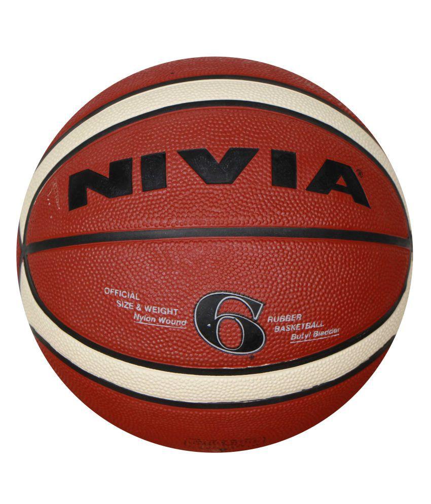 Nivia Engraver Six Basketball / Ball NIVIABB202