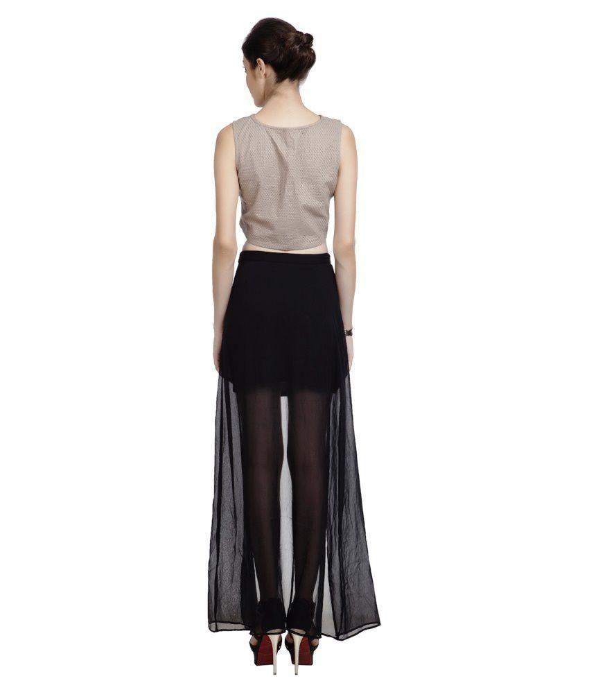 bb7094223c009 Pour Femme Crop Top With Sheer Maxi Skirt (Combi) - Buy Pour Femme ...