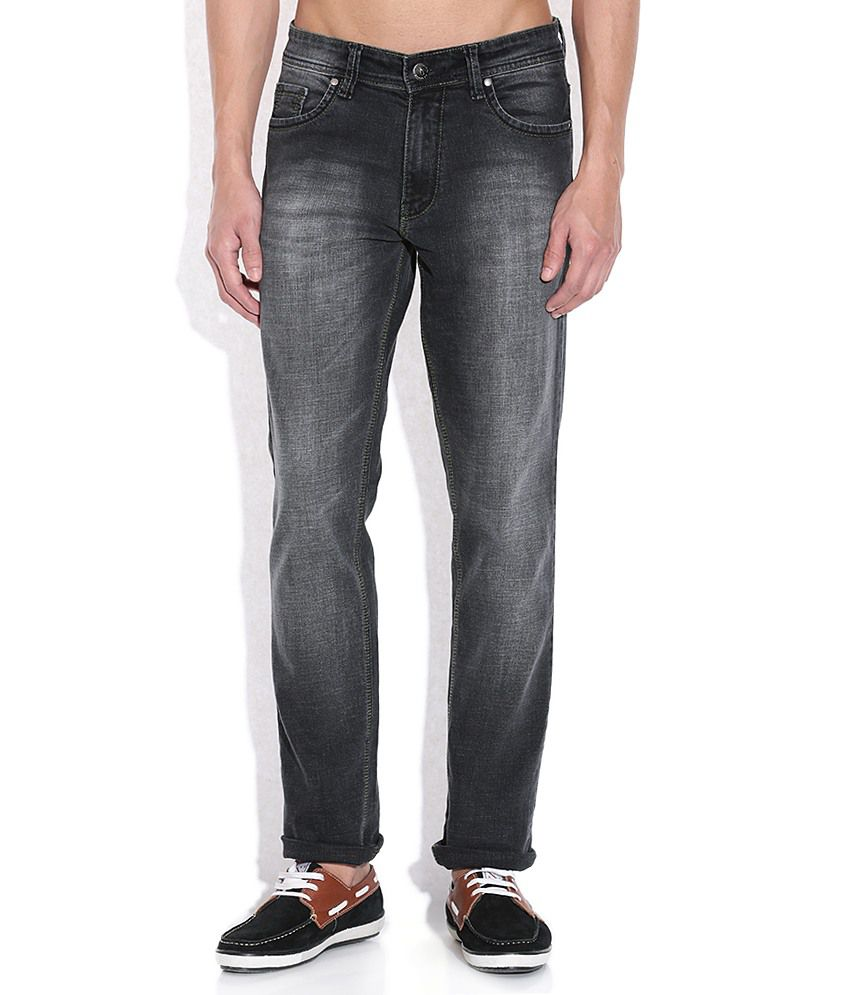 American Swan Black Slim Fit Jeans