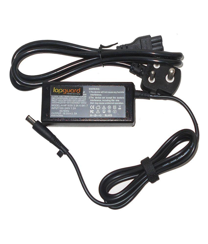 Lapguard Laptop Adapter Fit for Compaq Presario CQ40 18.5V 3.5A Thick Pin